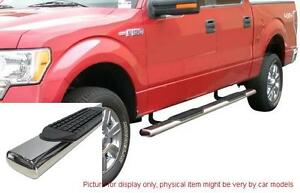 Dodge Ram 2500 Crew Cab 2009 2013 4 S S Oval Side Step Nerf Bar Running Board