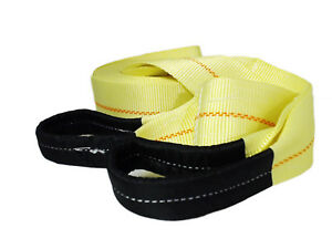 Abn Tow Strap With Loops 3 X 30 Vehicle Recovery Rope 20000lbs Recovery Strap