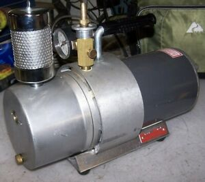 Marvac 1 3 Hp Vacuum Pump 115 Vac 1 Phase 1725 Rpm Hand Carry Model L 3