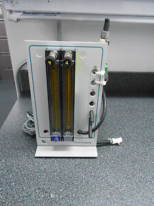 Applikon Flow Console With 2 Pmr1 Aalborg Flow Meters 1 Burkert 1 Asco Valve