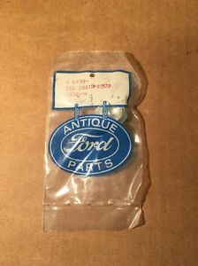 1929 34 Model A Ford Oil Drain Plug Antique Ford Parts New In Original Packaging