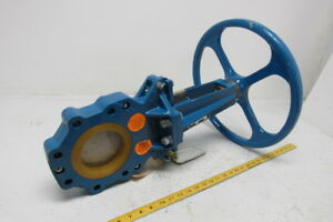Newcon 042205dihw 4 Wafer Knife Gate Valve 150 Psig