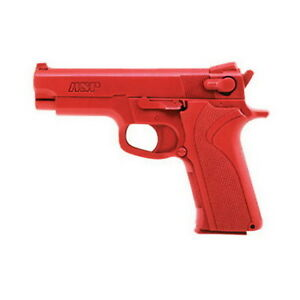 Asp Police Fake Martial Arts Red Gun Academy Training S w 40 Cal Pistol Gun