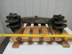 Bridge Crane 3 1 4 Beam Trolley End Truck Overhead Hoist Trolley 6 1 2 Wheels