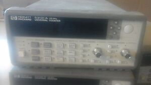 Hp Agilent 53131a 225 Mhz Universal Frequency Counter no Options Installed