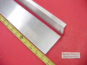 2 Pieces 1 2 X 3 Aluminum 6061 Flat Bar 40 Long T6511 50 Plate Mill Stock