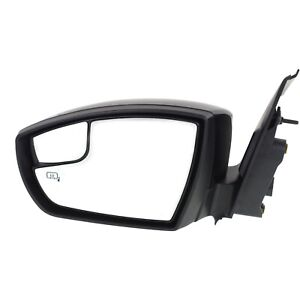 Power Mirror For 2013 2016 Ford Escape Left Side Manual Fold Heated With Memory