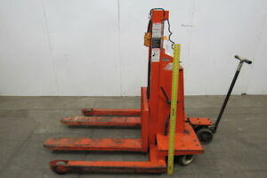 Lee Presto Lift Wps 4236 30 12v Powered Pallet Jack Lifter Mover 3000lb 36 Lift