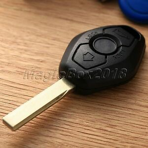 Replacement Car Key Shell Case Keyless Entry Remote Fob 2 Button Cover For