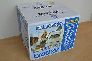 Brand New Brother Intellifax 4100e Business Laser Fax Printer 33 6kbps Msrp 299