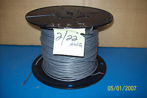 Spool 2 wire 2 22 Awg 300v Cable 350