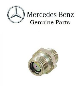 Vacuum Line Fitting Genuine For Mercedes 240d 1977 300cd 300d 300sd 0049971872