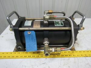 Haskel 51050 aad 2 Double Acting Single Stage Air Pressure Amplifier 300 Psi