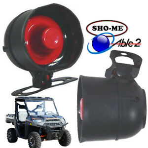 Sho Me Air Horn Siren For Auto Motorcycle Boat Atv Jeep Suv 12v Waterproof