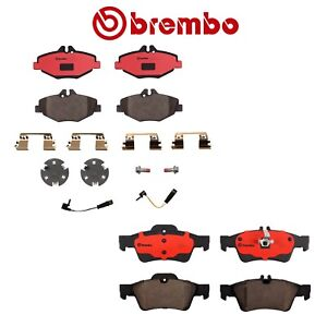 For Mercedes benz W211 E320 E350 Set Of Front Rear Disc Brake Pads Brembo