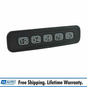 Oem 8l8z14a626aa Keyless Entry Number Door Keypad Left For Ford Lincoln Mercury