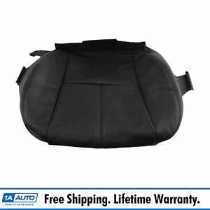 Oem Front Seat Cover Lh Driver Side Lower Ebony Leather For Chevy Gmc Cadillac