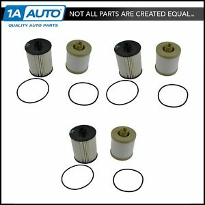 Motorcraft Fd4617 Fuel Filter Set Of 3 For Super Duty 6 4l Powerstroke Diesel