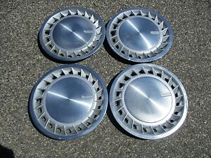 Dodge Caravan Plymouth Voyager 14 Inch Metal Hubcaps Wheel Covers