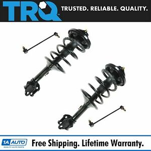 Strut Shock Coil Spring W Sway Bar End Link Front Set For 99 04 Honda Odyssey