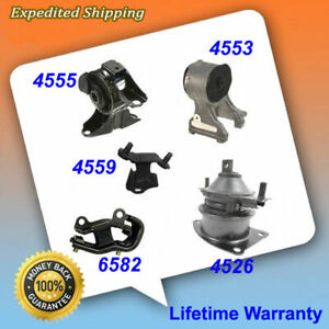 For 05 06 Honda Odyssey 3 5l Lx Ex Engine Motor Trans Mount Set 5pcs M415