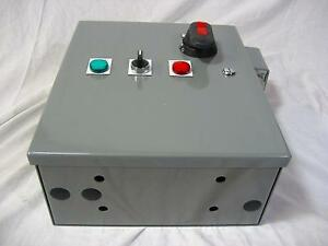 Aquaboost Simplex Oem Control Panel 1 5 Hp 230v 50 60 Hz 3 Phase 6 5a Xylem Bell