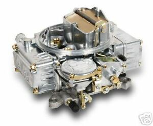 Holley 0 1850s 600cfm Factory Refurbished 4bbl Carb Manual Choke