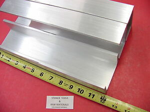 3 Pieces 3 x 1 75 Aluminum Channel 6061 X 26 Flang 12 Long T6 Mill Stock