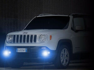 Non Halo Fog Lamps Driving Lights Kit For 2015 2016 2017 Jeep Renegade