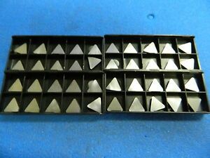 Interstate Carbide Turning Inserts Tpu323 Grade I55 Qty 40