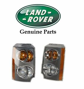 For Land Rover Range Rover Set Of Front Left Right Turn Signal Assemblies
