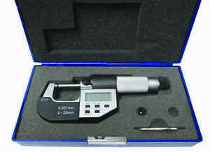 1 2 25 50mm Electronic Outside Micrometer