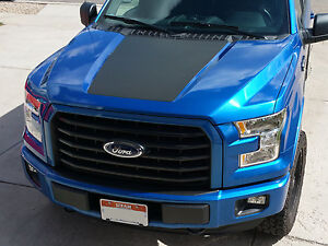 2015 2016 New Ford F 150 Hood Stripe Decal Vinyl Stickers High Quality Graphics