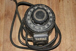 General Radio Co Variac Type V5 5amp Good Looking Working Condition
