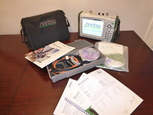 Anritsu Ms2721b 9 Khz To 7 1 Ghz Spectrum Analyzer W Tracking Generator Cal d