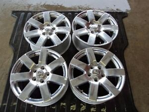 4 07 16 Jeep Wrangler Jk Factory 18 Alloy Wheels Ds52k Oe