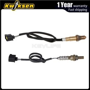 2pcs Oxygen O2 Sensor 1 2 Up Down For 2005 2008 Chrysler Town Country