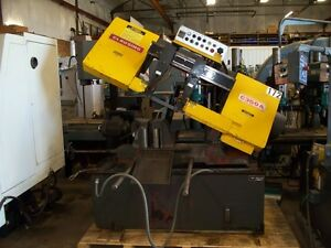 9703 Clausing Automatic Horizontal Bandsaw