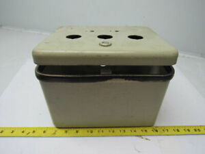 Hoffman D 1086is Electrical Enclosure Junction Box 10 X 8 X 6 W back Panel