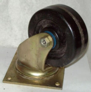 Bassick 5 X 2 1000 Lbs Swivel Top Plate Caster C471