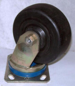 Bassick 5 X 2 600 Lbs Swivel Top Plate Caster C475