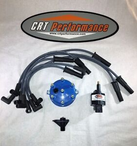 Jeep Tj Wrangler Ignition Tune Up Kit 45k Upgrade 1998 1999 4 0l 242 Blue Cap
