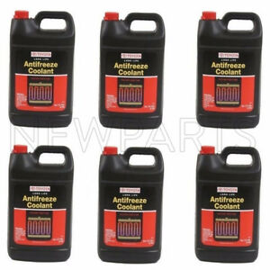 6 Gallon Pack Genuine Fits Toyota Red Long Life Engine Coolant Antifreeze Fluid
