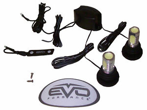 Evo Formance Led Cop Strobe Lights Kit Ultra White 2 pack For Car truck