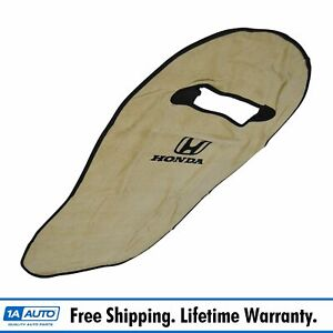 Oem Tan Cotton Terry Velour Seat Armour Cover Front Lh Or Rh For Honda New