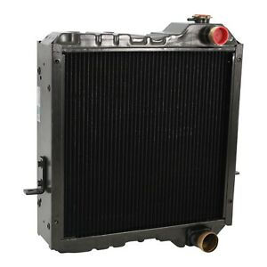 Case Backhoe Radiator Fits 570 580l 580ssl 590sl 4300 P85 234876a1 234876a2