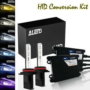 35w Hid Xenon Bulbs Headlight Conversion Kit Ultra Silm Ballasts 9006 hb4 d