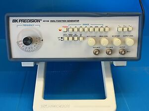 Bk Precision 4010a 2 Mhz Function Generator