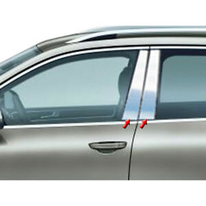 4pc Luxury Fx Stainless Steel Pillar Post Trim For 2011 2017 Volkswagen Touareg