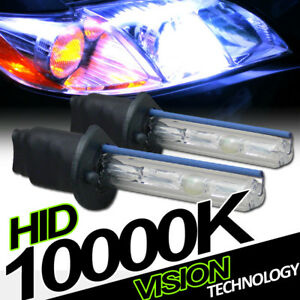 10000k Hid Xenon H1 Driving Bumper Fog Lights Lamps Bulbs Conversion Kit New Va1